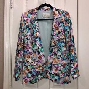 Hinge floral blazer
